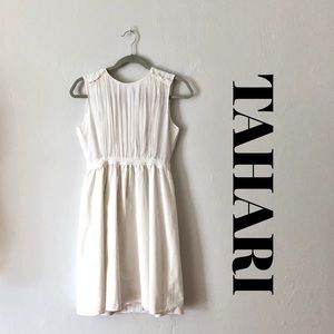 TAHARI White Dress